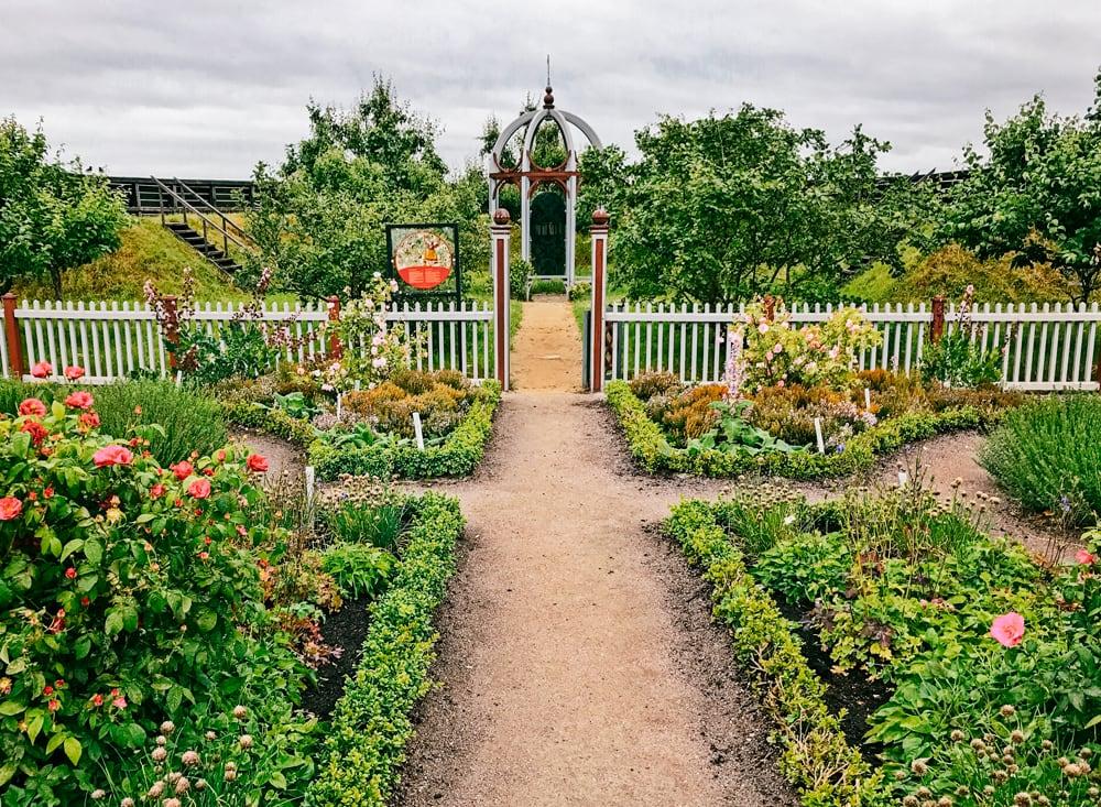 Tycho Brahes rekonstruerade renässansträdgård på Ven